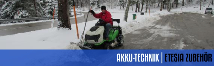Etesia Zubehör Akku-Technik